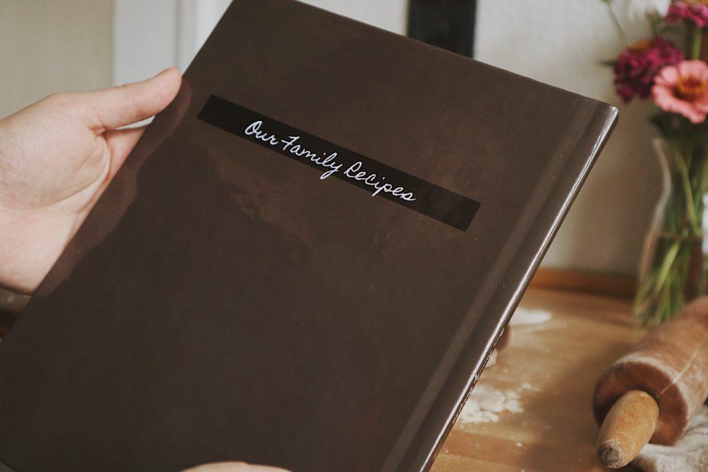 Verity Folk School family recipes book